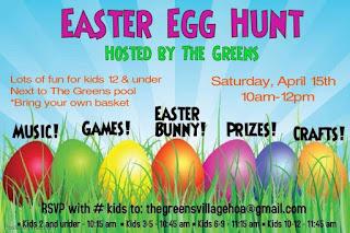 Winston Trails Easter Egg Hunt