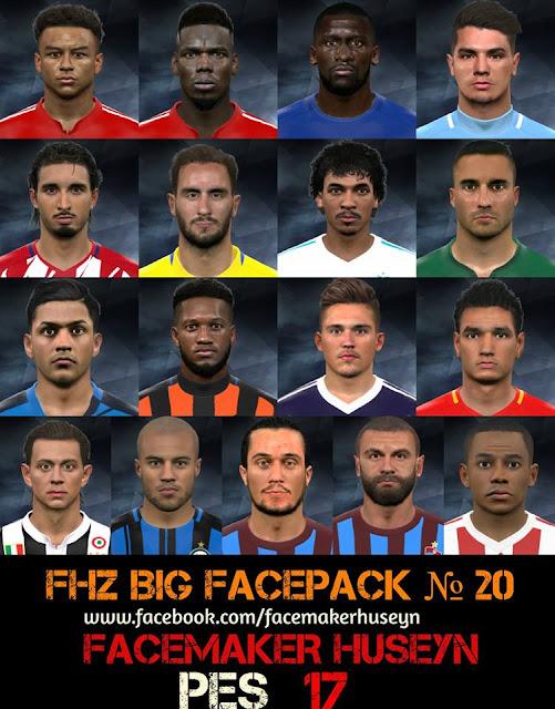 PES 2017 FHZ BIG FACEPACK No 20