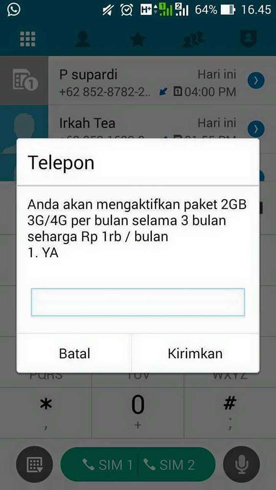 Kuota Internet Telkomsel 2GB