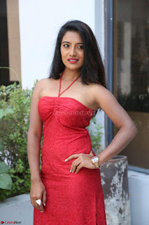 Mamatha sizzles in red Gown at Katrina Karina Madhyalo Kamal Haasan movie Launch event 204.JPG
