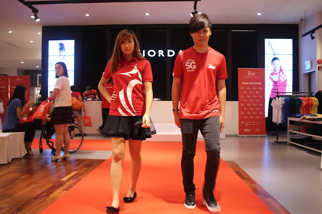 Evilbean and Kaiting at TeamSG x Giordano 2015