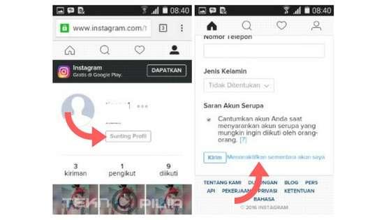 Cara Terbaru Menghapus Akun Instagram Untuk Sementara