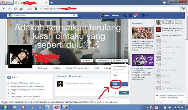 Blokir Facebook