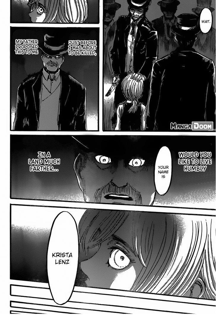 Shingeki no Kyojin Ch 52: Krista Lenz