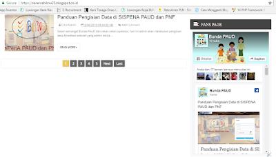 Untuk menampilkan fanspage fb di halaman blog Cara Mudah Menampilkan FansPage Facebook di Blog