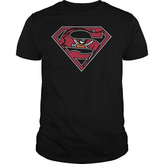 Tampa Bay Buccaneers Superman Logo Shirt