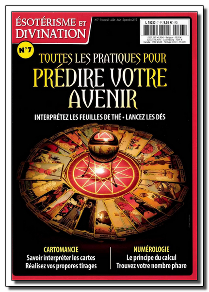 Ésotérisme Et Divination N°7 - Juillet-Aout-Septembre 2012  [Lien Direct]