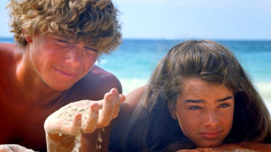 Richard (Christopher Atkins) e Emmeline (Brooke Shields) | Blog #tas