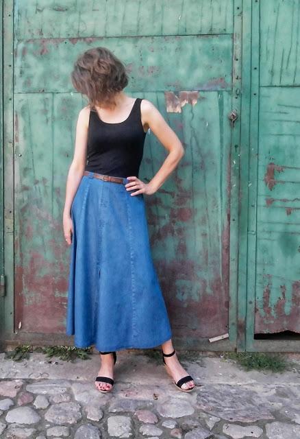 291. łup z SH # 2 jeansowa spódnica