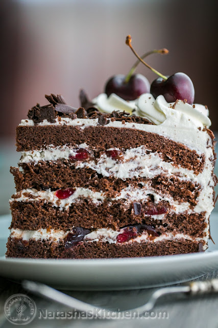 This Black Forest Cake is my version of the famous High German chocolate cake Black Forest Cake Recipe (Please Share To Save The Recipe)