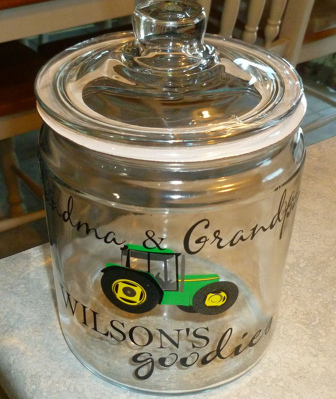 Cher S Signs By Design Custom Cookie Jar