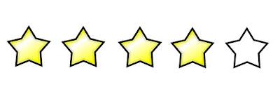 Resultado de imagem para 4 estrelas classificação de livros