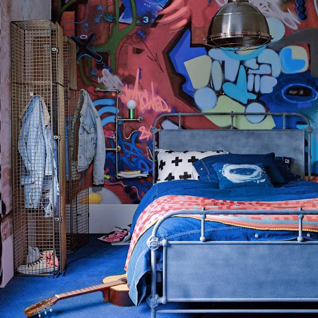 Hiasan Bilik Tidur Anak Street Style