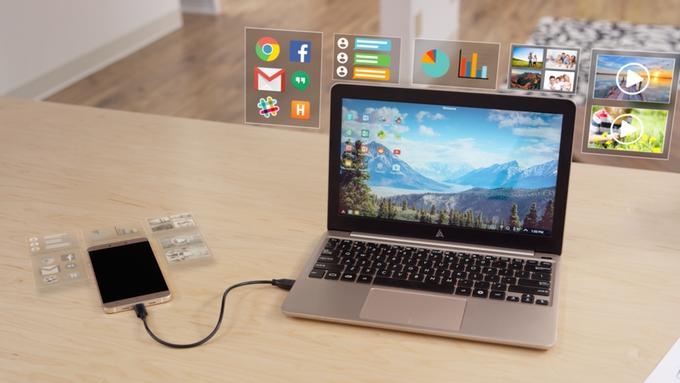Con 99$ hai un Notebook con il tuo Android | Video