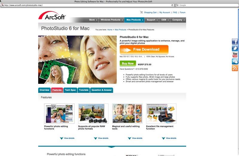 arcsoft photostudio 6 buy