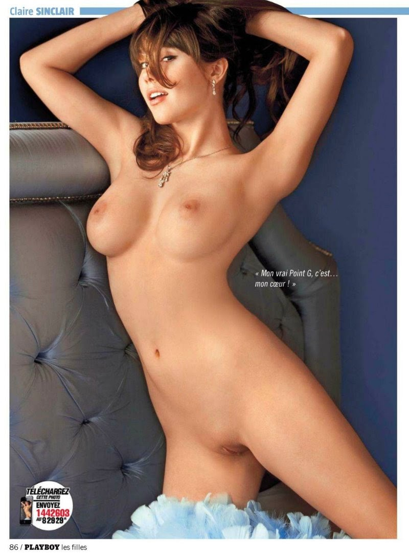 claire sinclair naked