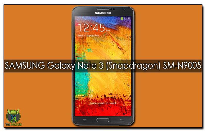 Update Samsung Galaxy Note 3 SM-N9005 | N9005XXSGBPL7