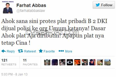 Farhat Abbas Jadi Tersangka Kasus SARA