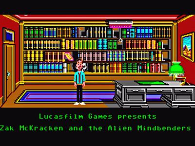 Fondo de pantalla - Zak McKracken
