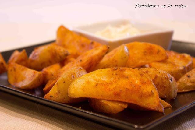 Patatas deluxe o especiadas