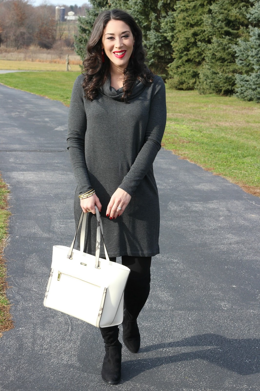 Style in Harmony: Comfy Cowl Neck Tunic