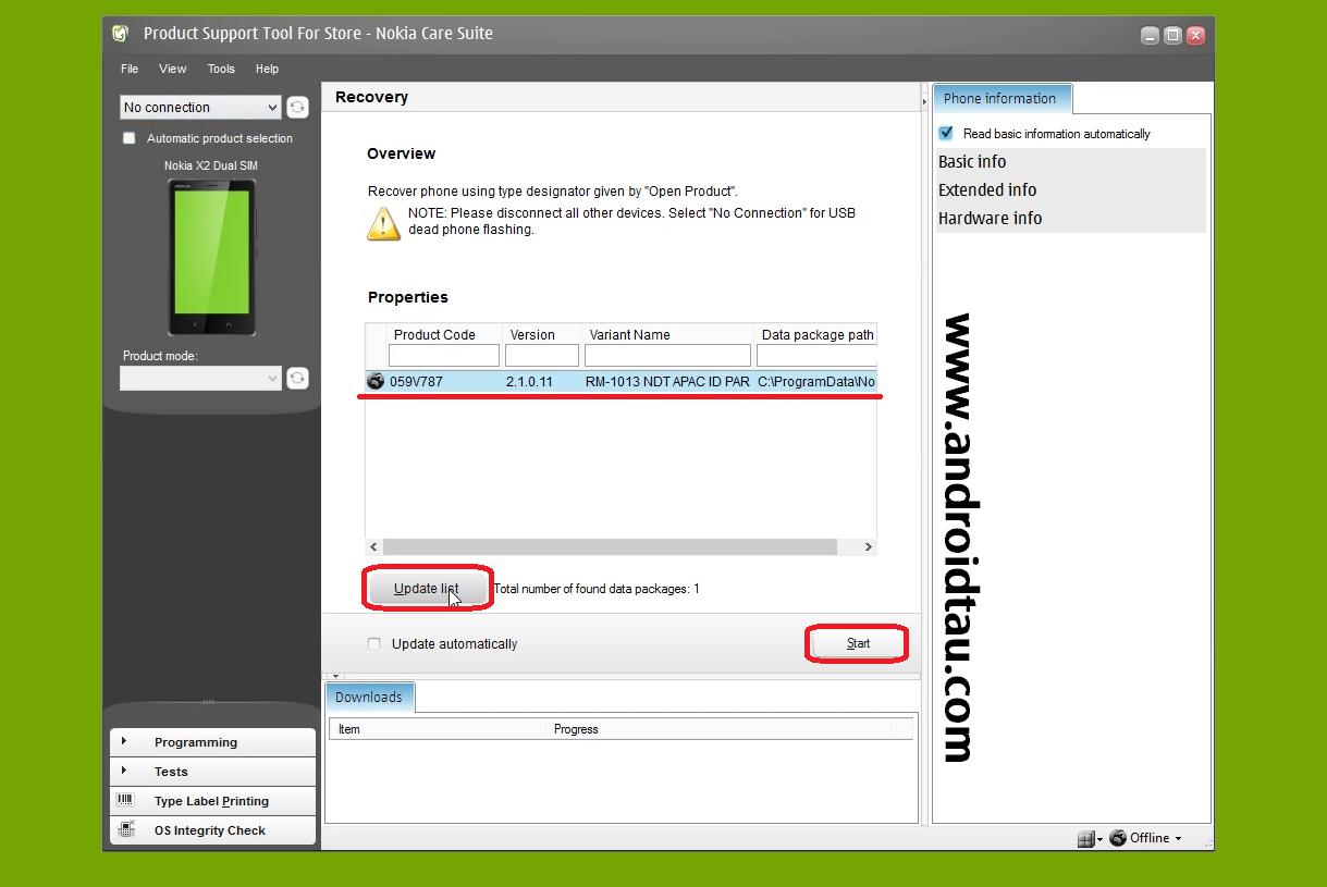 Cara Flashing Nokia X2 Dualsim Android Bootloop Tidak Bisa Masuk Menu (stuck dilogo nokia)