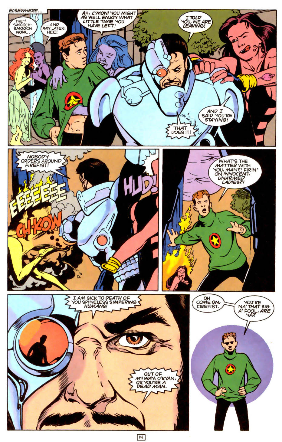 Legion of Super-Heroes (1989) 47 Page 14