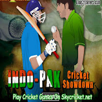 Play Indo Pak Cricket Showdown Game