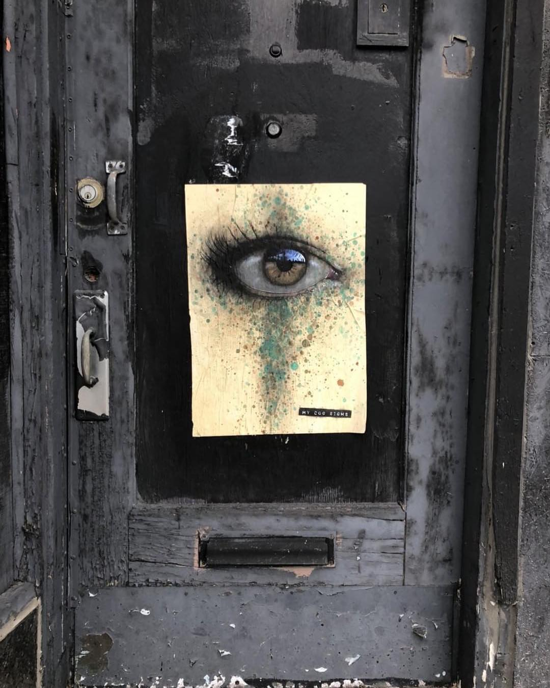 After Many Art Galleries Rejected Him, This Artist Is Leaving His Paintings For People To Find