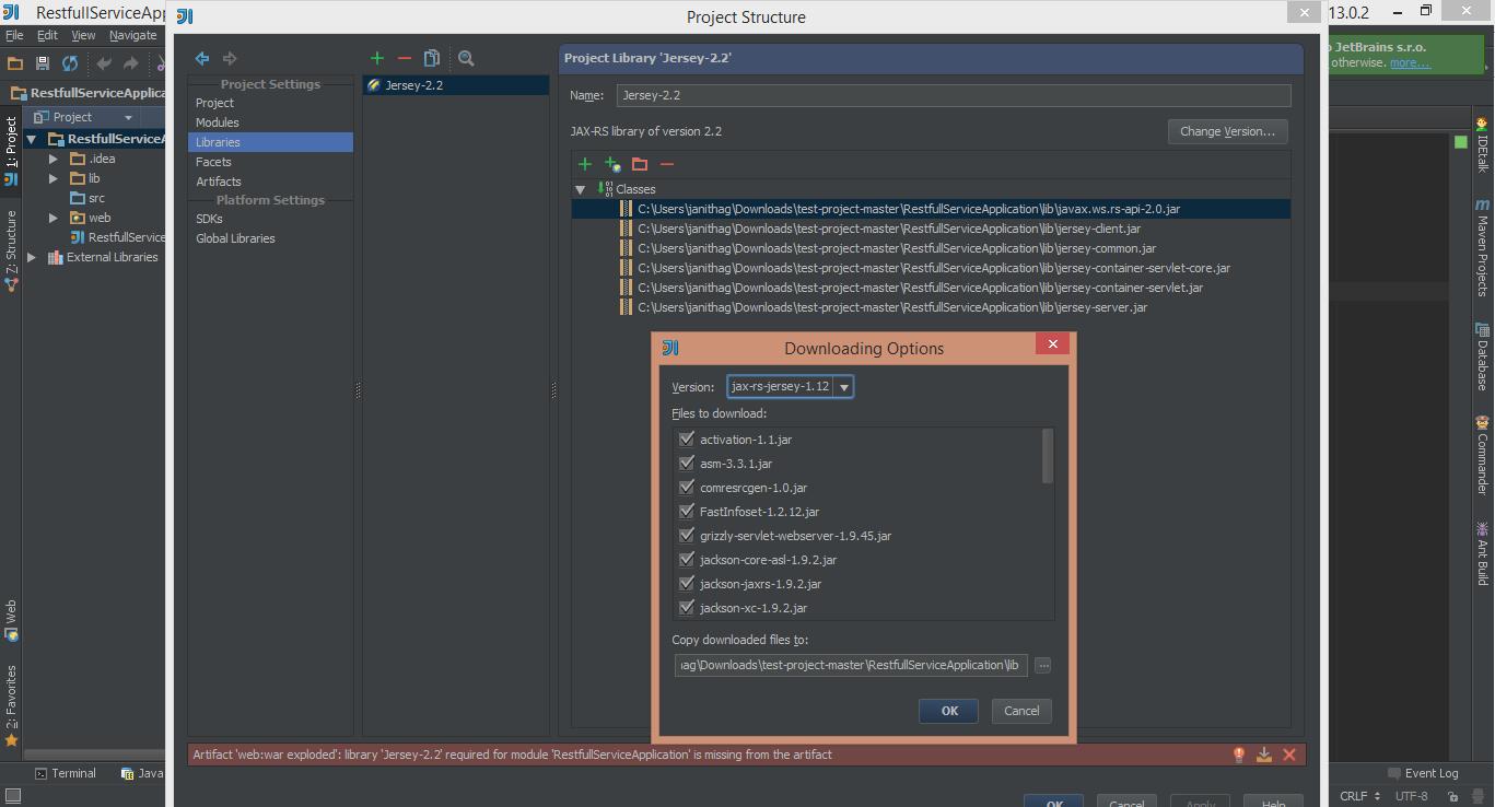 RESTful Web Services(JAX-RS) in JavaEE with IntelliJ IDEA ~ Tech