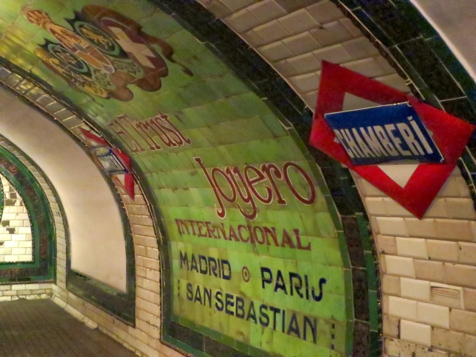 Antonio Palacios. Metro de Madrid