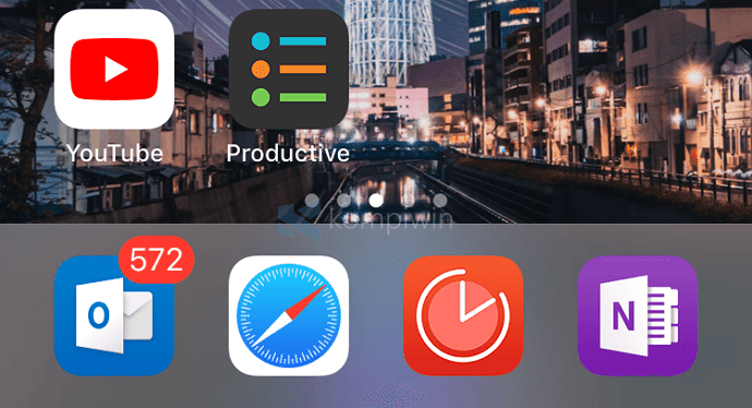 aplikasi home screen