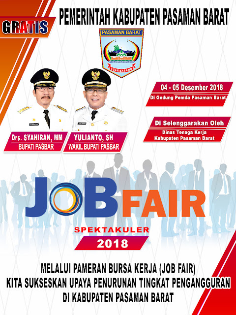Job Fair Pasaman Barat GRATIS