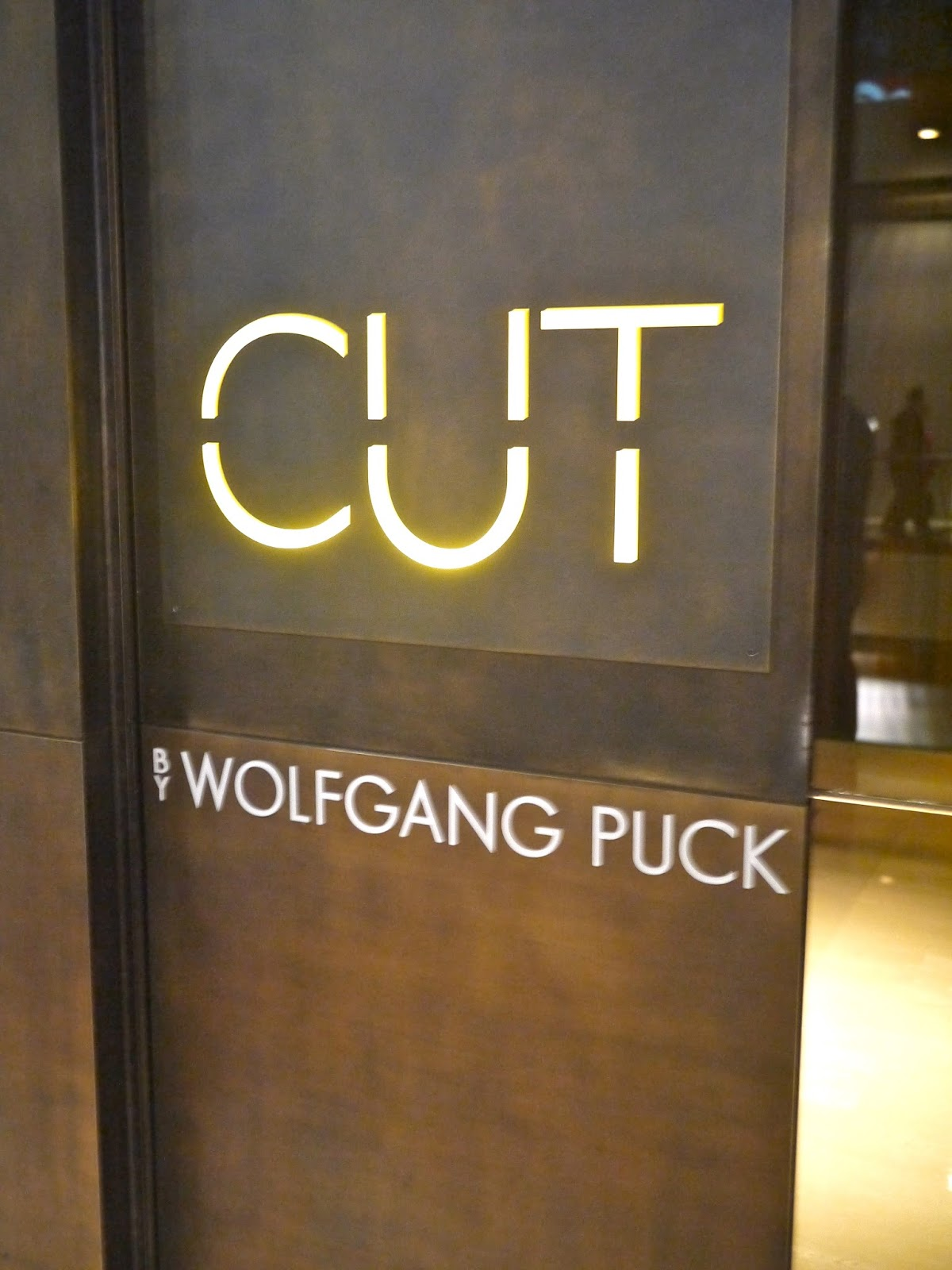 Dinner at Cut, Singapore - PrettyHungry