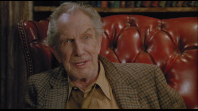 Vincent Price as Julian White in FROM A WHISPER TO A SCREAM (1987).