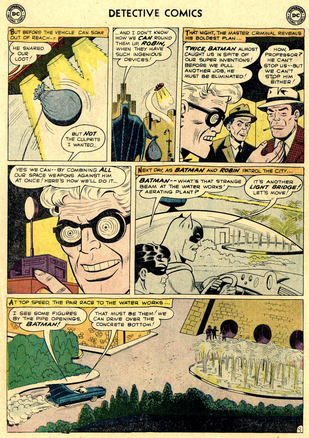 Read online Detective Comics (1937) comic -  Issue #263 - 11