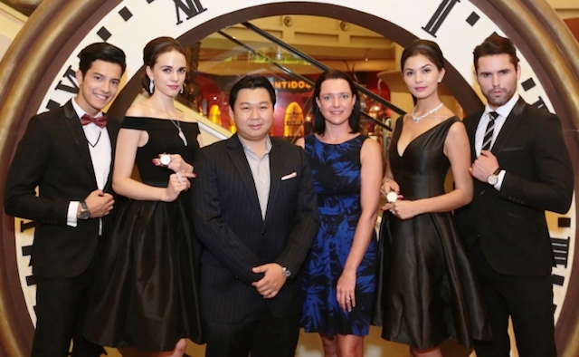 A Journey Through Time IX, Starhill Gallery, November 2015, Kuala Lumpur, Watch Jewellery Exhibition, Watch Showcase, watch collectors, jewellery collectors enthusiasts, Joseph Yeoh, YTL Land Development, YTL Hotels, British fashion designer, Julien Macdonald, Carly Paoli, Gareth Gates, Gubelin Entourage Ring, Omega Watch, Omega James Bond Collection, Mühle-Glashütte Teutonia II Chronograph,