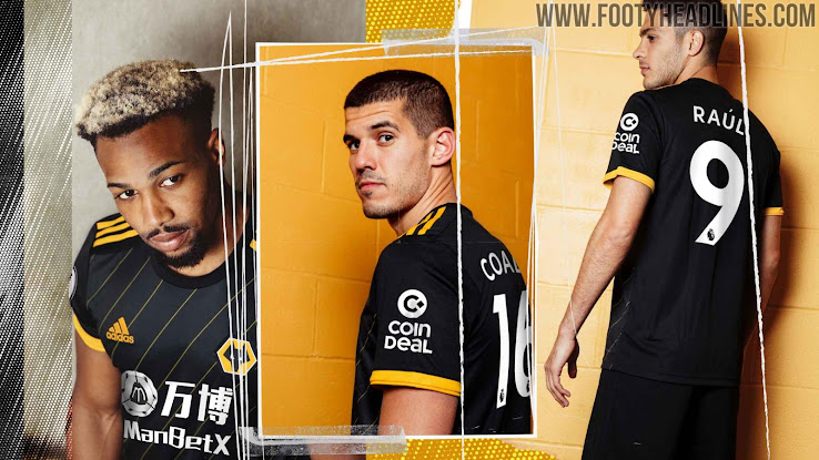 Wolves 19-20 Home & Away Kits Released - Footy Headlines