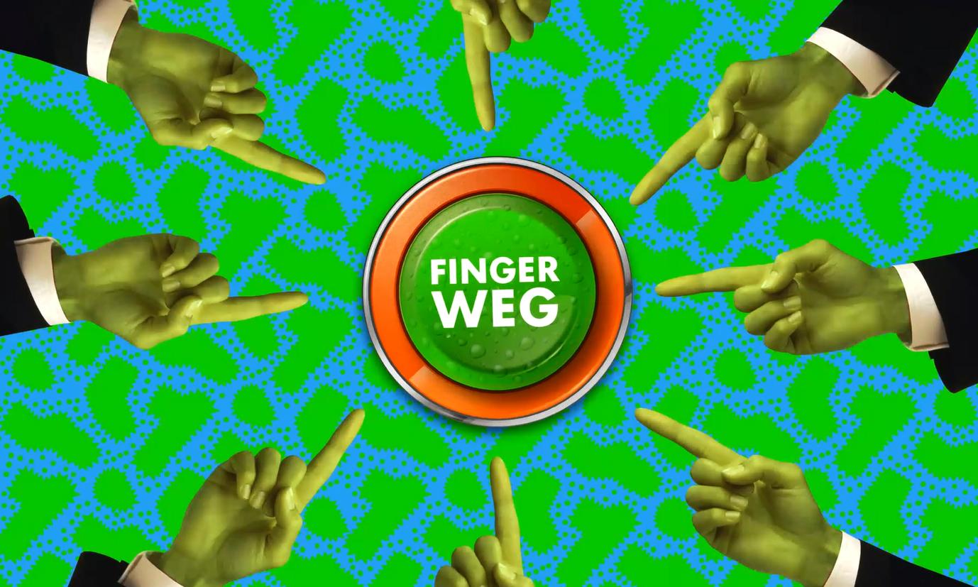 Finger Weg Drehort