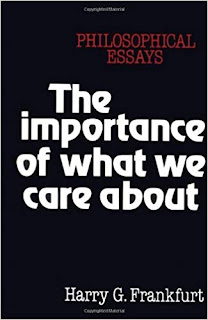 The Importance of What We Care About (book cover) by Harry G. Frankfurt