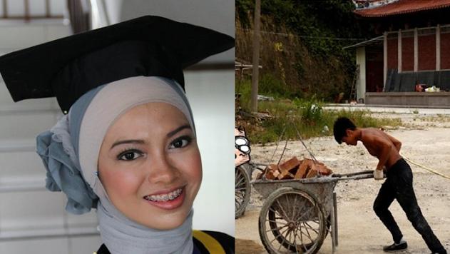 Kisah Nyata  Berjuang Jadi Kuli Demi Calon Istri Kuliah