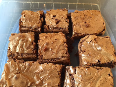The improving cook- Cappuccino brownies