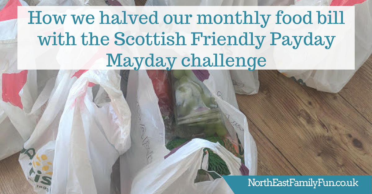 How we halved our monthly food bill with the Scottish Friendly Payday Mayday challenge