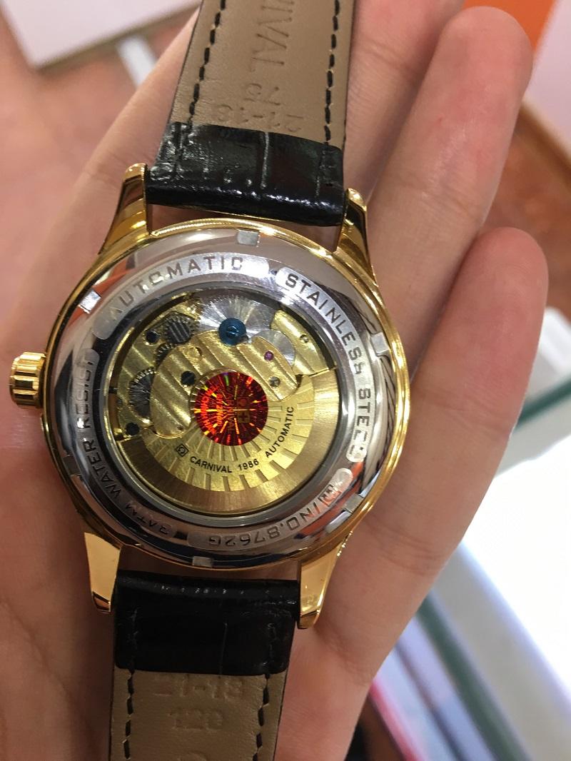 nhận biết đồng hồ carnival chính hãng và fake