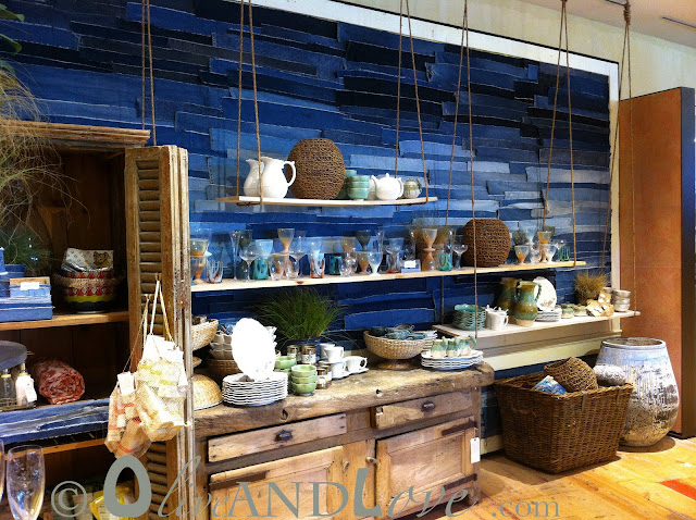 anthropologie jean wall display