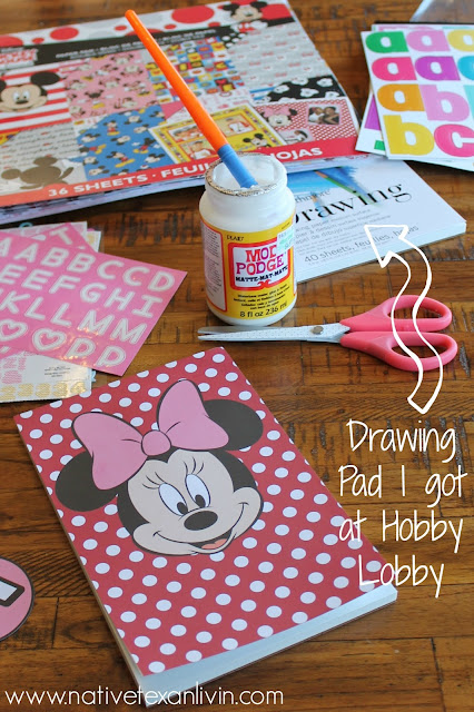 Easy DIY Disney Autograph book