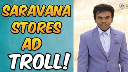 Saravana Stores Ad Troll