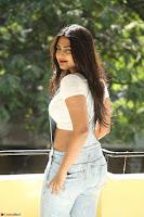 Neha Deshpande in Spicy Denim Jumpsuit and Whtie Crop Top March 2017 071.JPG