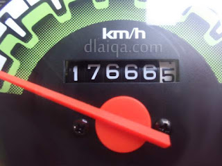 odometer akhir = 17666,5