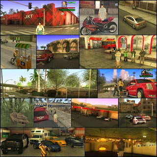 GTA San Andreas Versi Indonesia High Compressed 100% Working